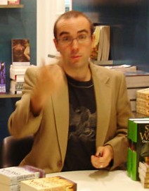 Julian Morrow at bookstore cropped.jpg