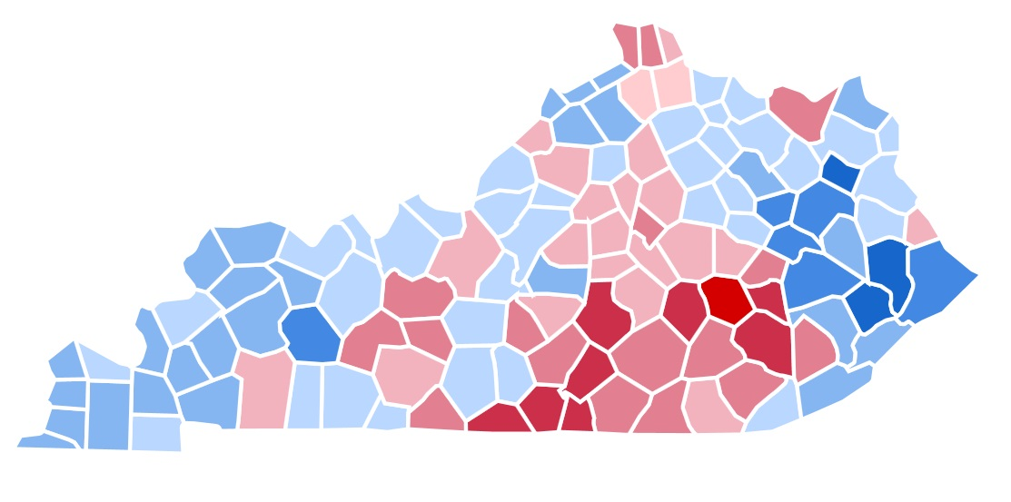 United States Presidential Election In Kentucky 1992