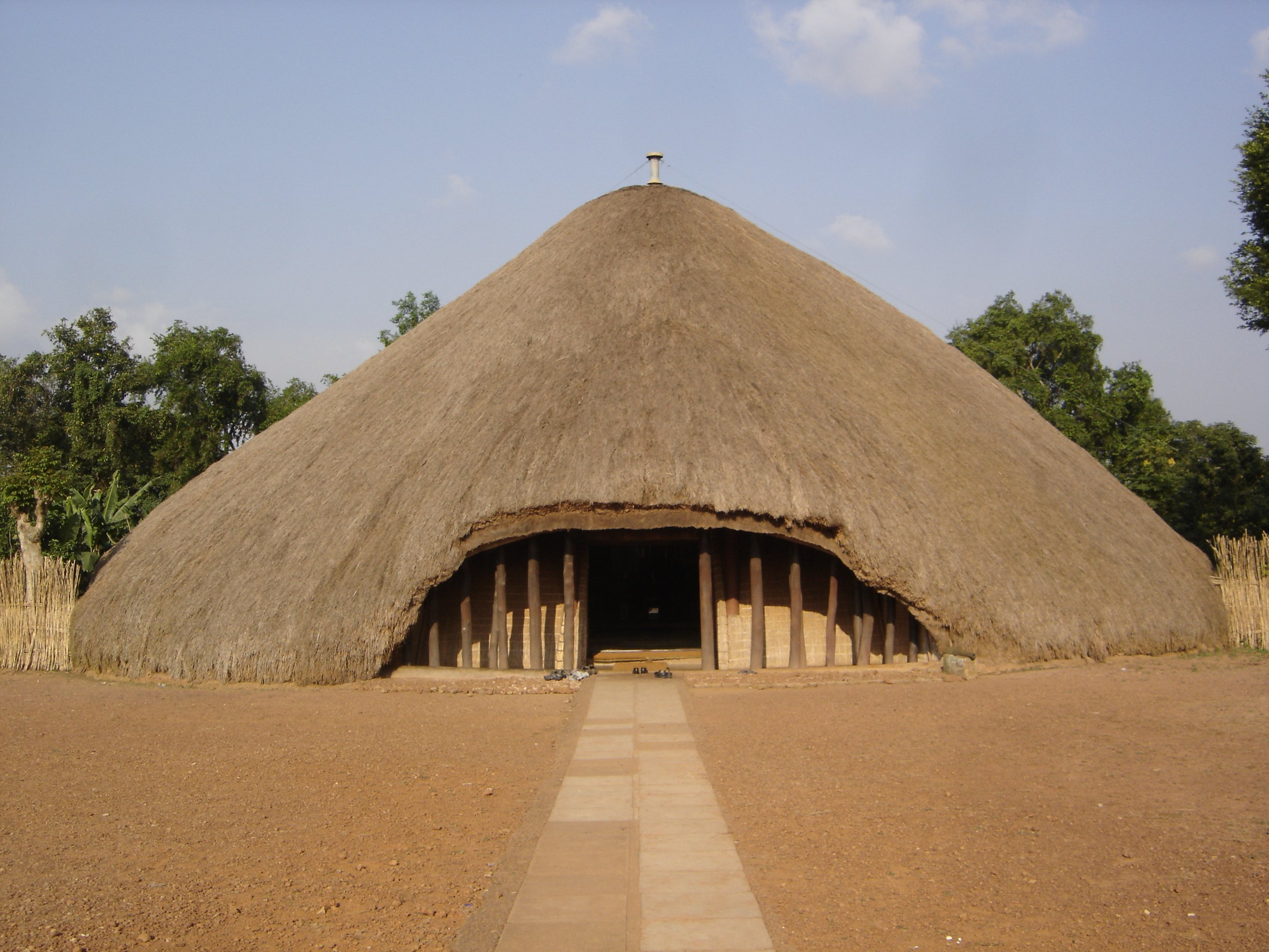 Kasubi tombs - Free Walking Tour in Kampala Uganda | Ummi Goes Where?
