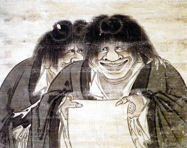 Kanzan,Jittoku-zu