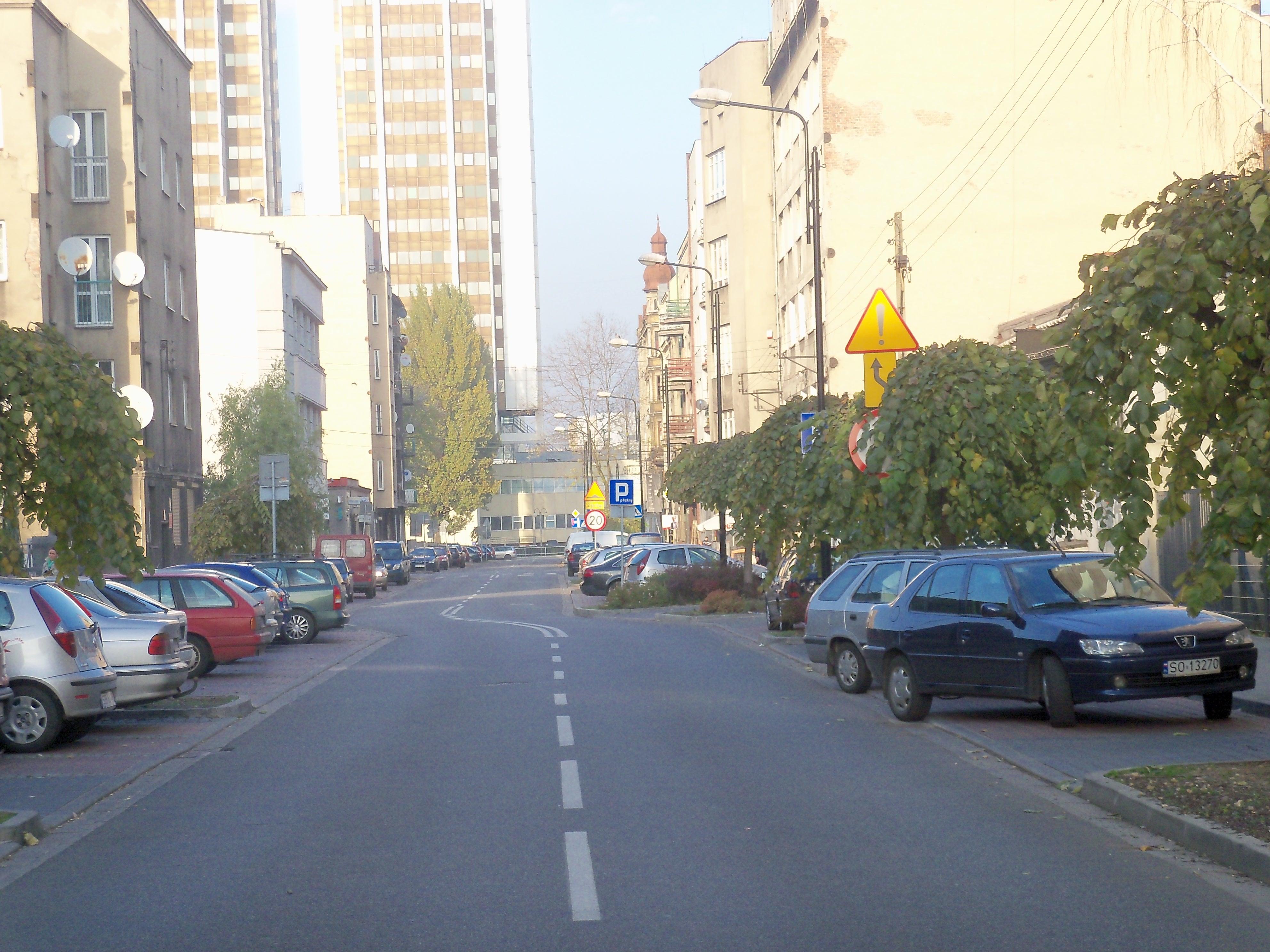 Ulica Jana III Sobieskiego w Katowicach