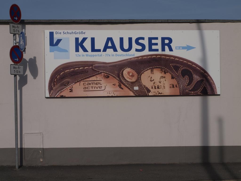 innovative design e333a 63f2f File:Klauser Schuhe Zentralverwaltung Wuppertal 86.jpg ...