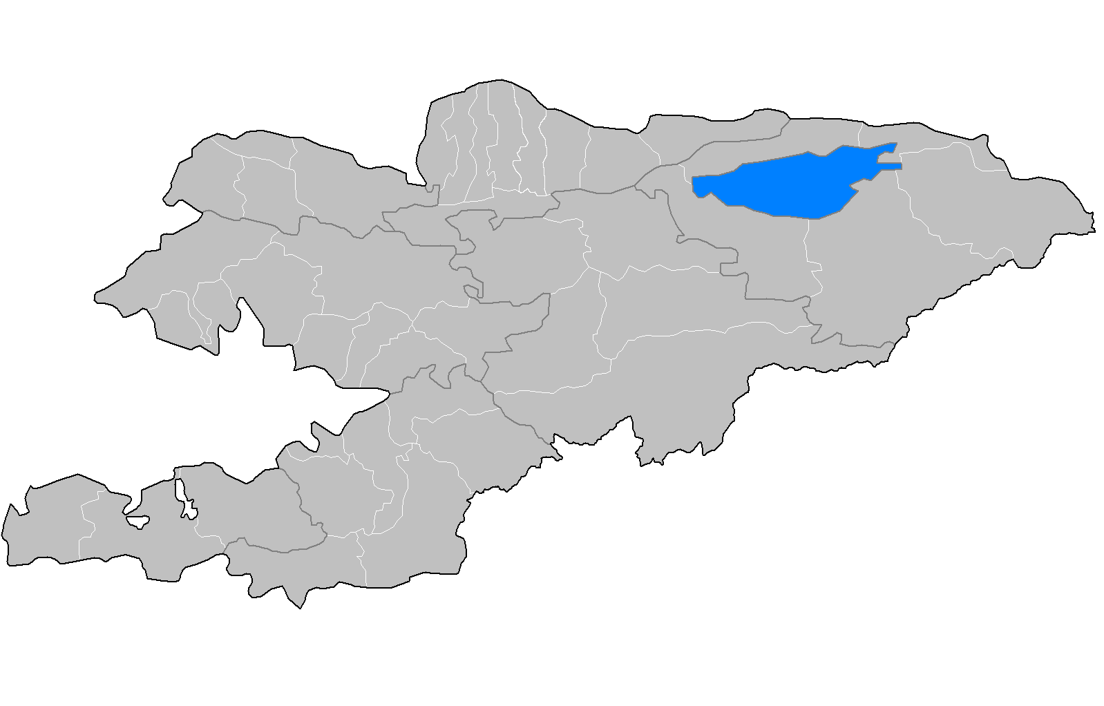 FileKyrgyzstan Raionspng Wikimedia Commons - Kyrgyzstan map