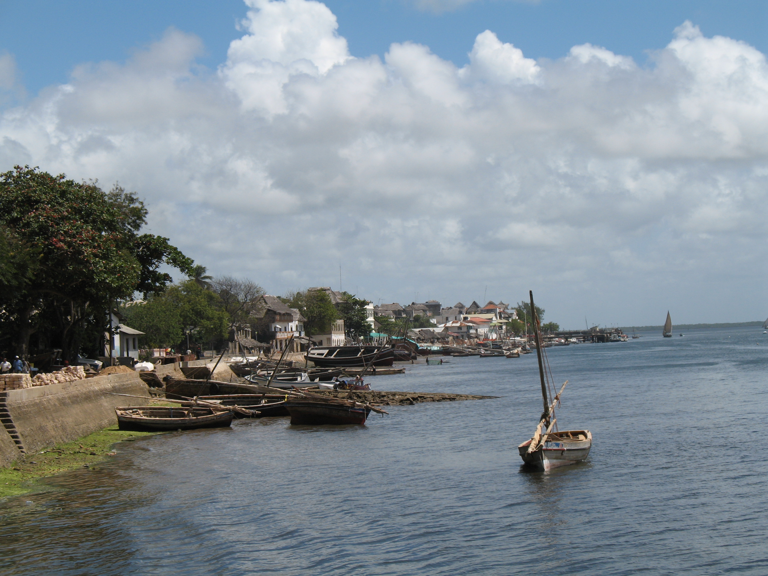 Lamu Island Kenya  city photos gallery : Lamu town on Lamu Island in Kenya