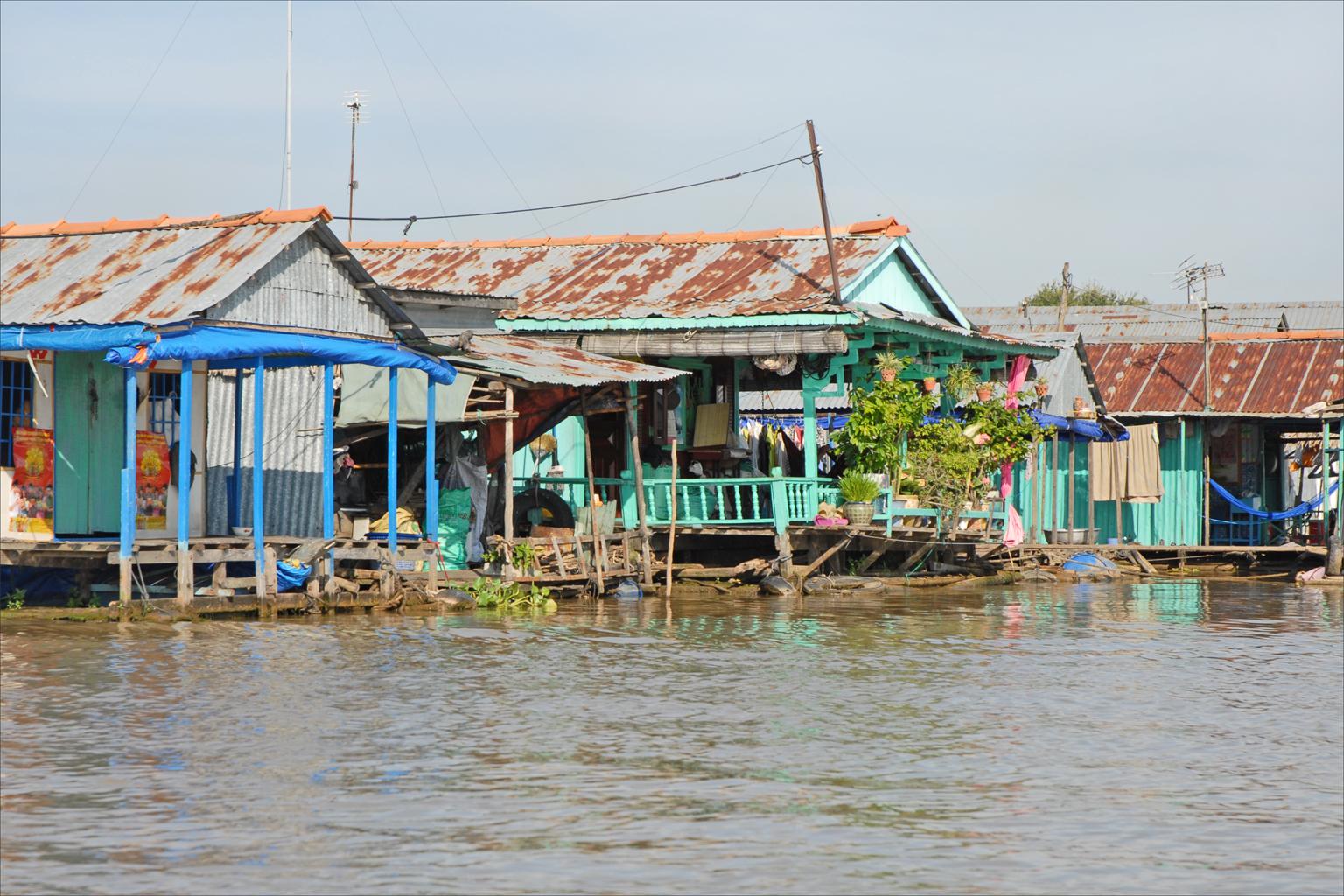Chau Doc (An Giang) Vietnam  city photos : Description Le village flottant Chau Doc, Vietnam 6620578201
