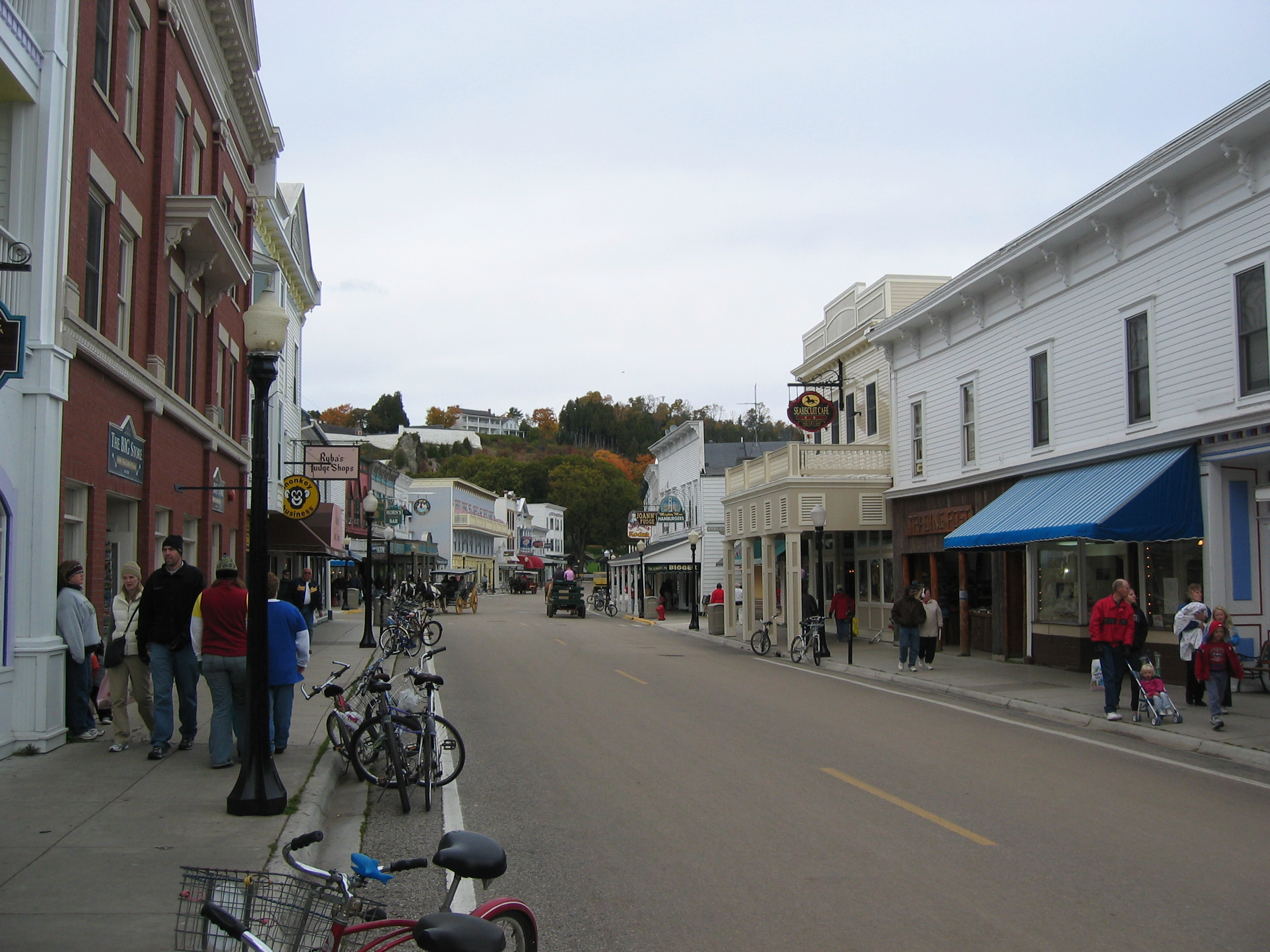 Download this Mackinac Island One Those Places Where You Drive Miles picture