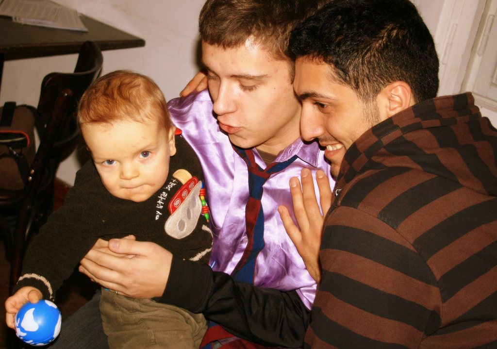 adoption in homosexual couples Also, adoption provides orphans the filial relationships that god intended for all   as evidenced by the fight for adoption rights by same-sex couples, the current.