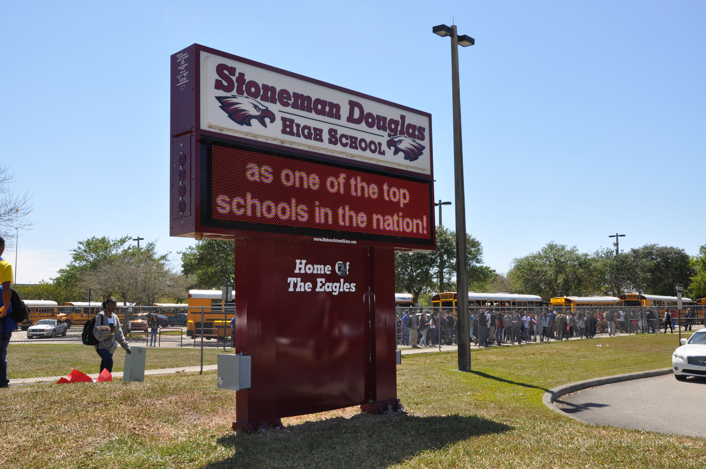 Image result for pics of stoneman douglas high school