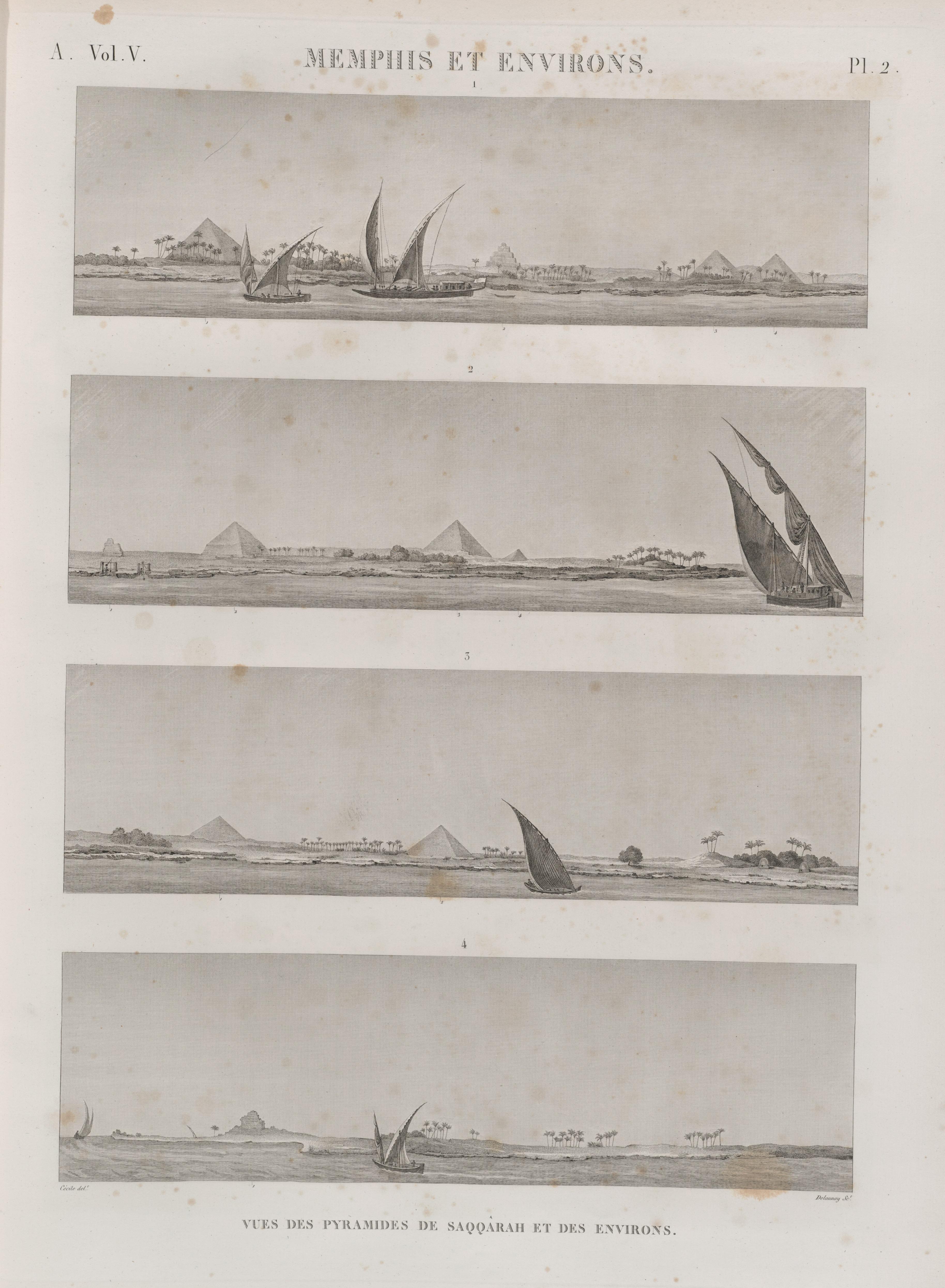 File:Memphis Et Environs. Vue Des Pyramides De Saqqârah Et Des Environs  (NYPL