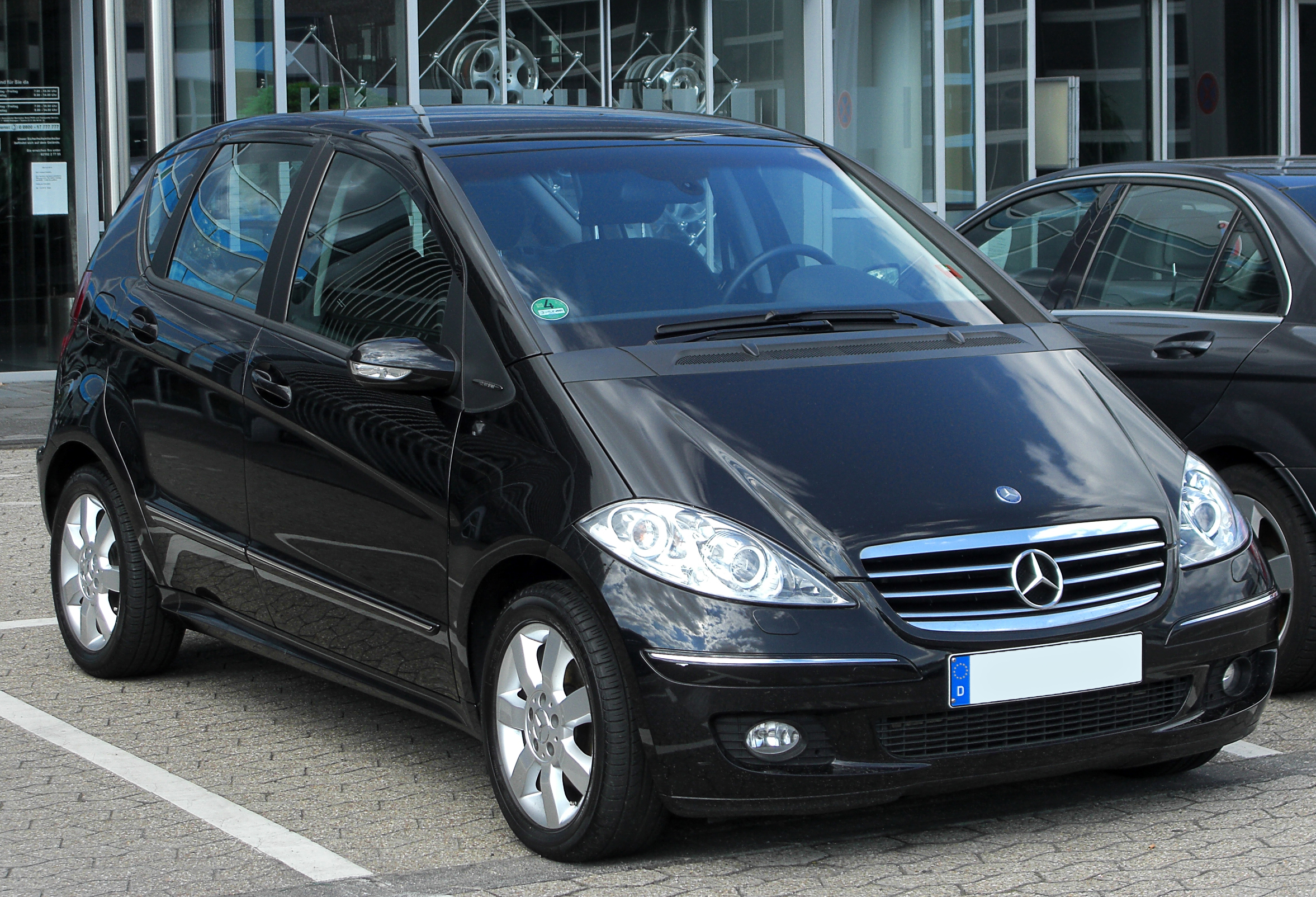 file mercedes a 180 cdi polar star w169 front wikimedia commons. Black Bedroom Furniture Sets. Home Design Ideas