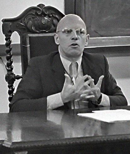 Foucault in 1974