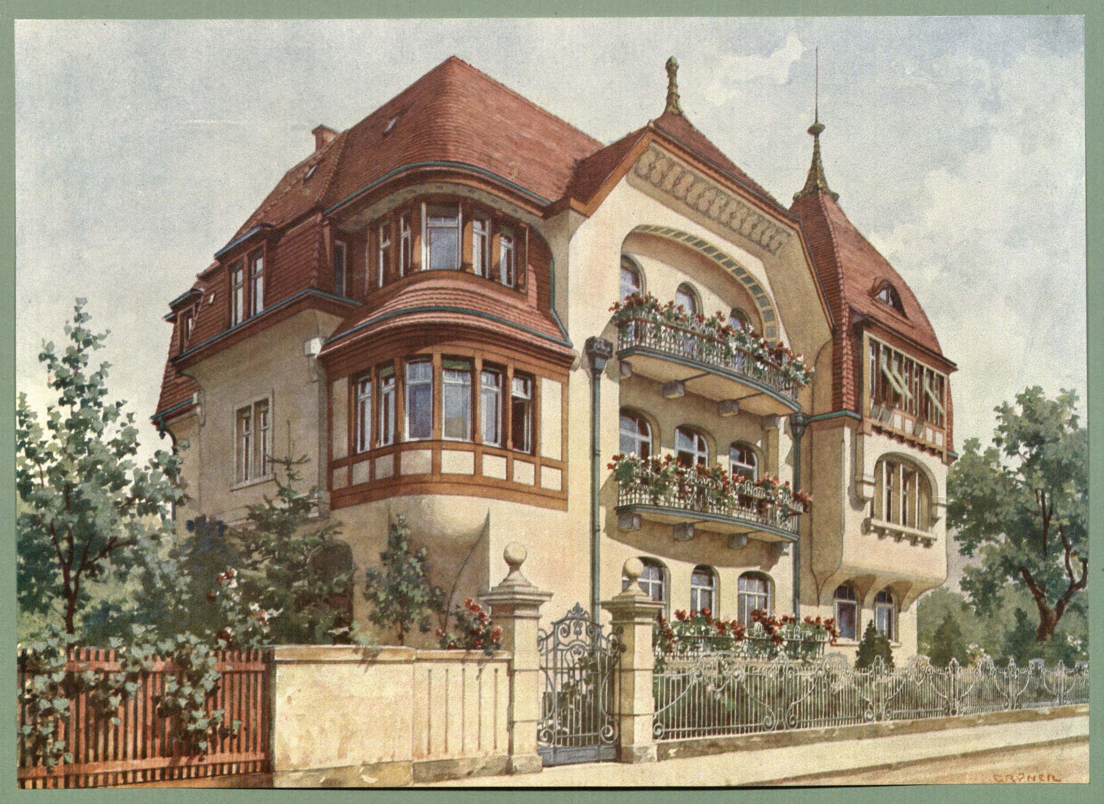 datei moderne villen in meisteraquarellen serie ii tafel 041 dresden blasewitz mietshaus. Black Bedroom Furniture Sets. Home Design Ideas