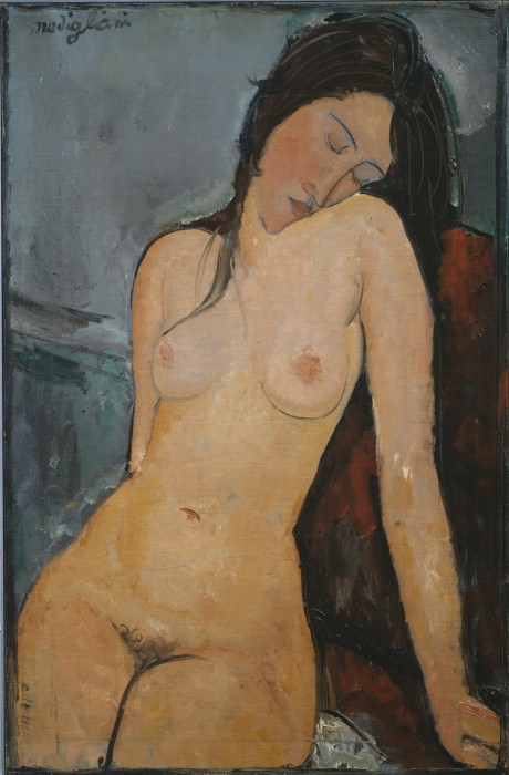 https://upload.wikimedia.org/wikipedia/commons/7/76/Modigliani_-_Female_nude_%28Iris_Tree%29.jpg