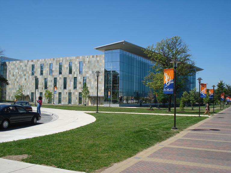 Morgan State University - library - pic 2.JPG