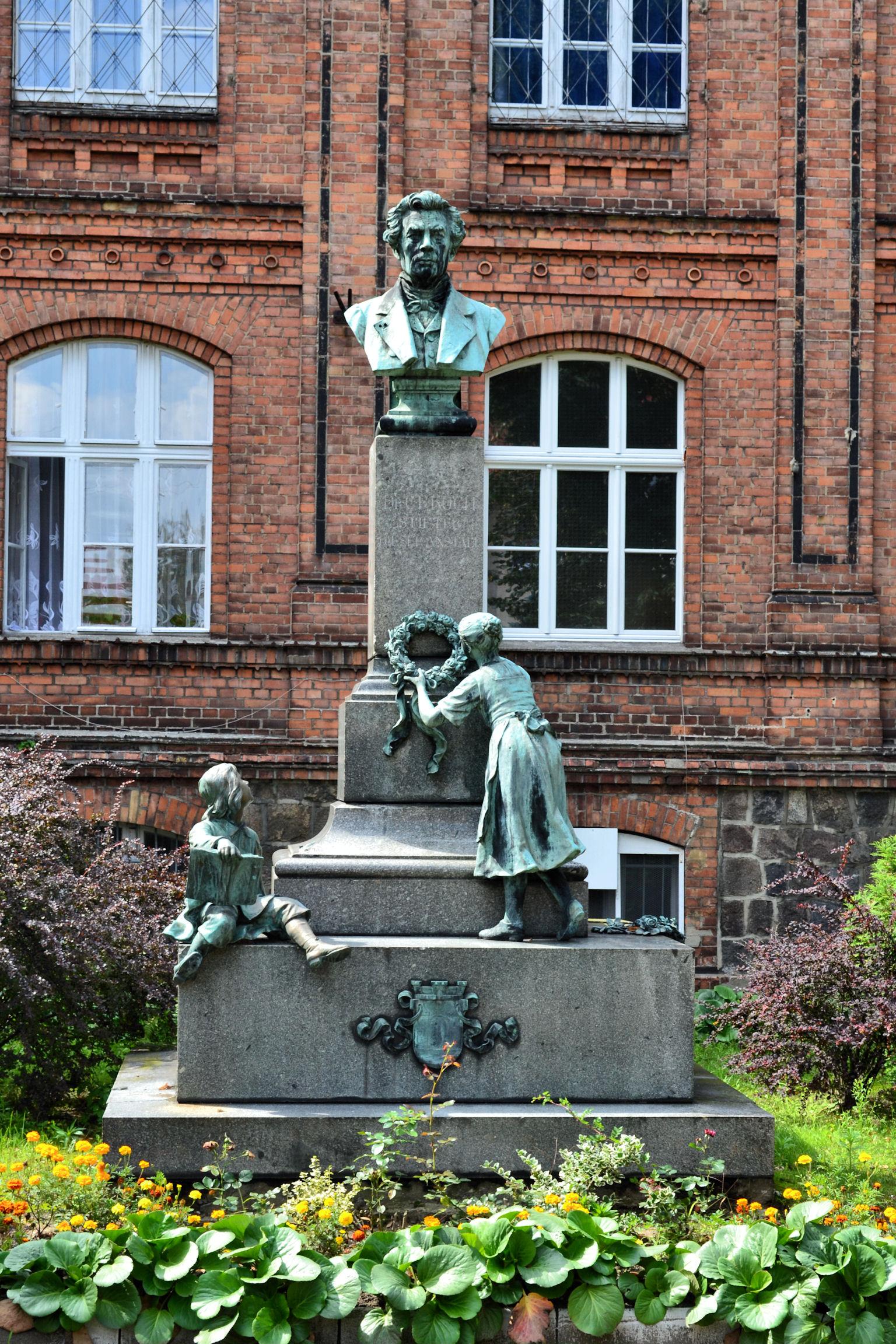 C. F. Koch memorial in his hometown