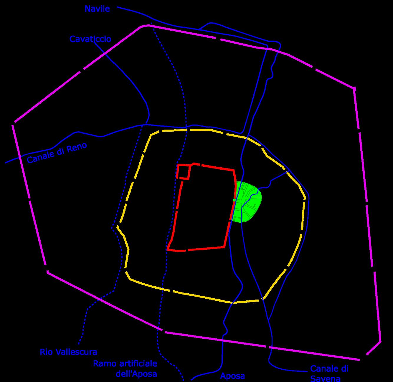 Mura di Bologna - Wikipedia