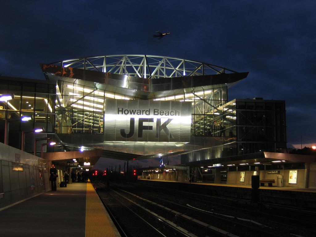 Aeroporto Jfk : Howard beachu2013jfk airport ind rockaway line wikiwand