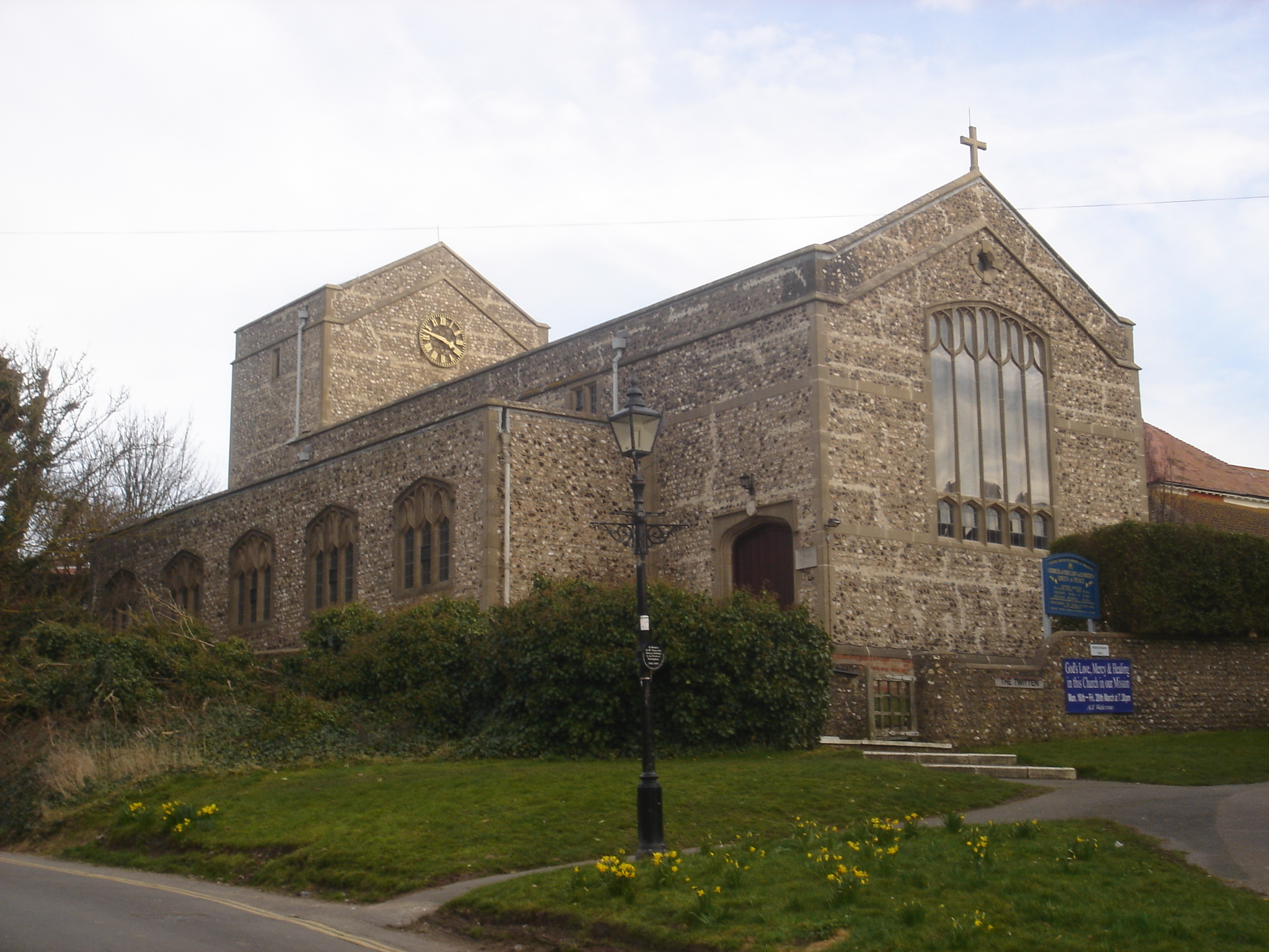 File Our Lady Of Lourdes Rc Church Rottingdean Jpg Wikimedia Commons