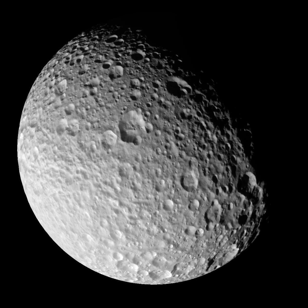 File Pia06256 Mimas Full View Jpg Wikimedia Commons
