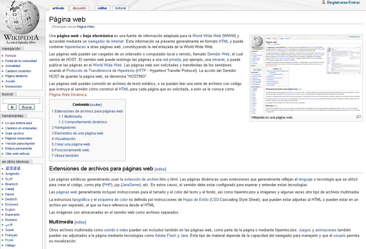 313215b03031 Página web - Wikipedia, la enciclopedia libre