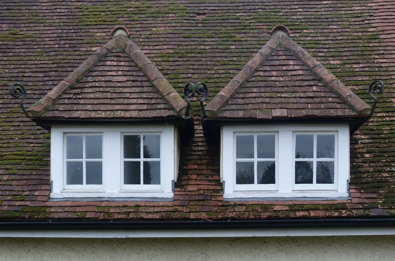 File Paired Dormer Windows Letchworth Geograph 4237604