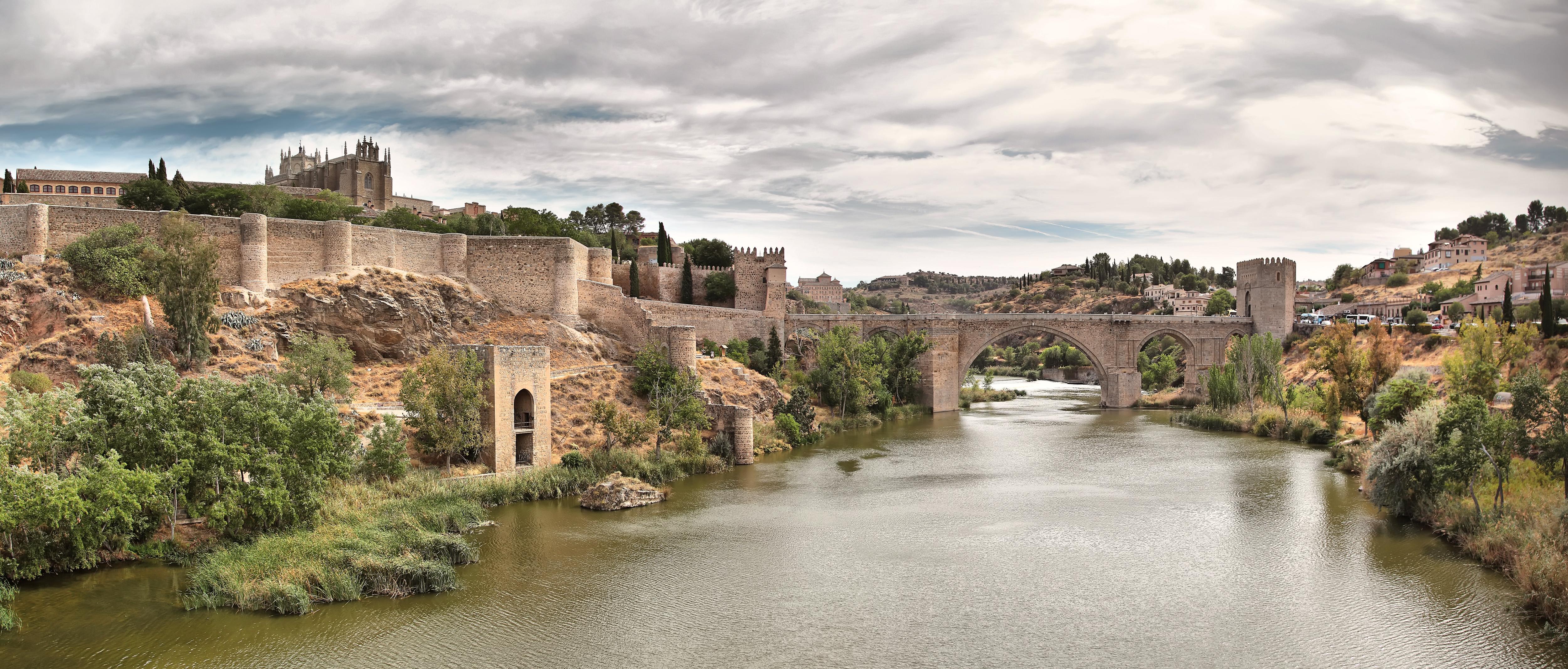 Puente San Martin Toledo el Puente de San Martín