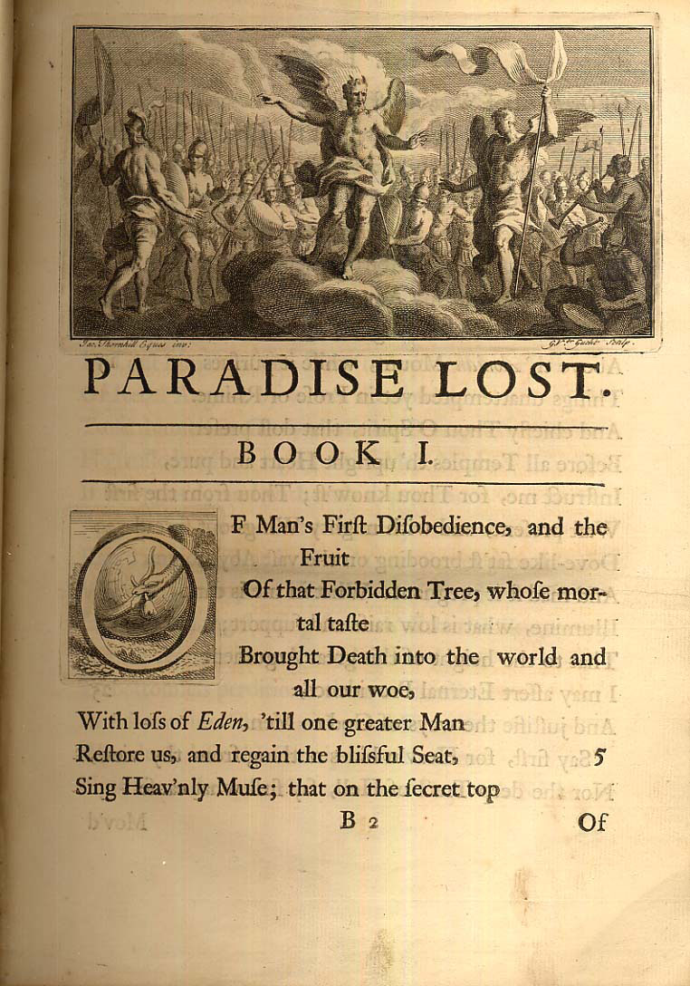 essay john lost milton paradise Suggested essay topics and study questions for john milton's paradise lost perfect for students who have to write paradise lost essays.