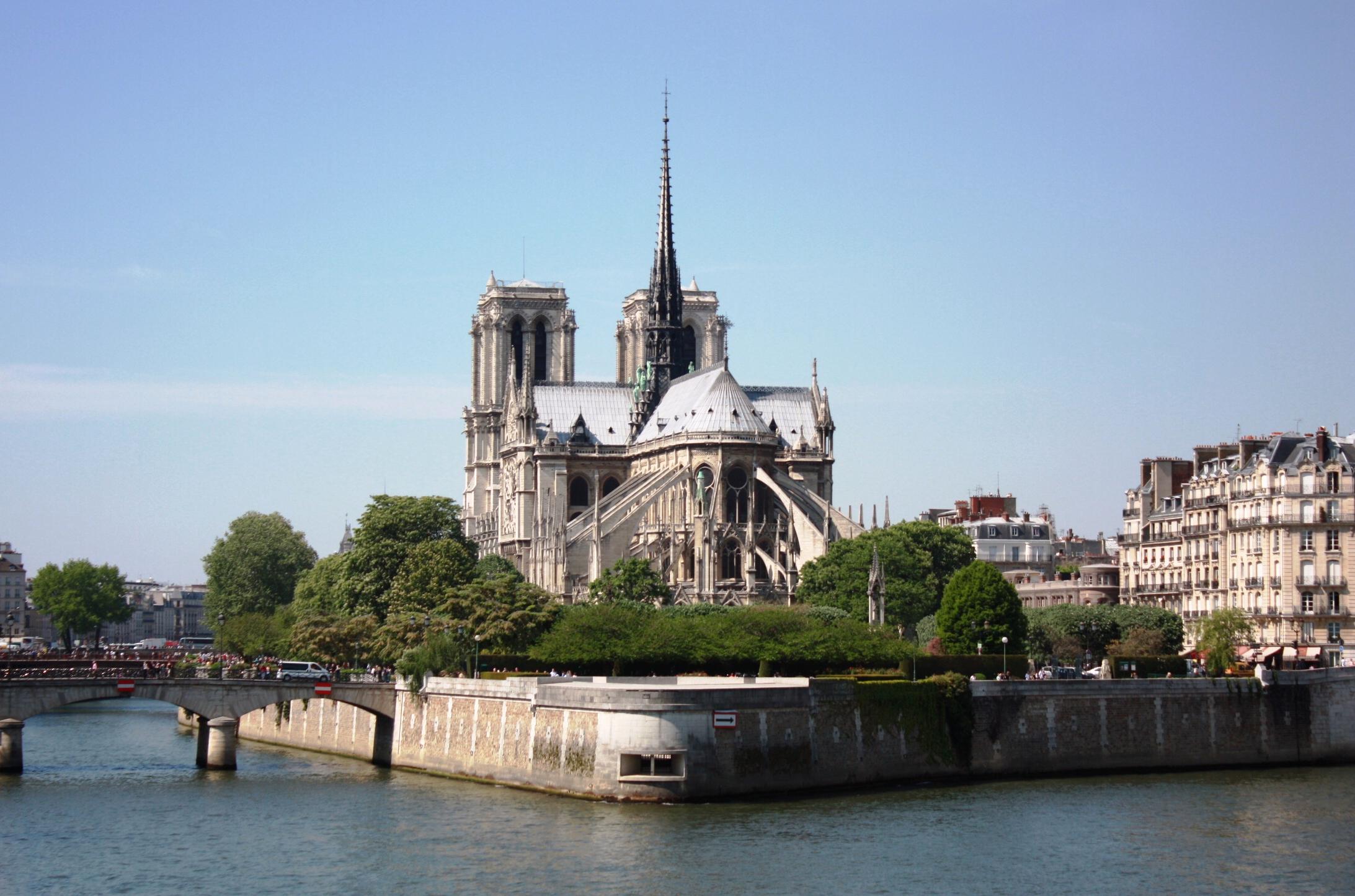 Isla de la Cité en París