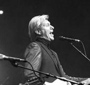 Paul Michiels tijdens een optreden van Soulsister