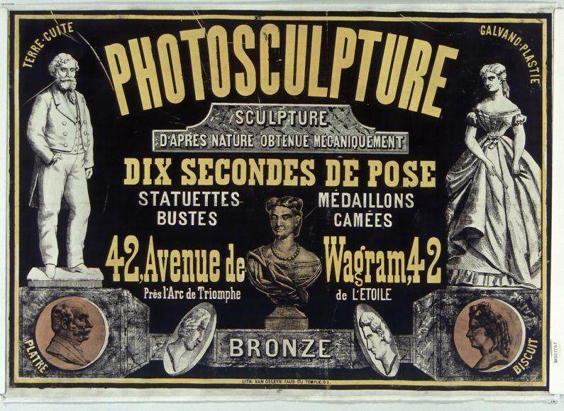 Le scanner existait déjà en 1860 ! Photosculpture_1860