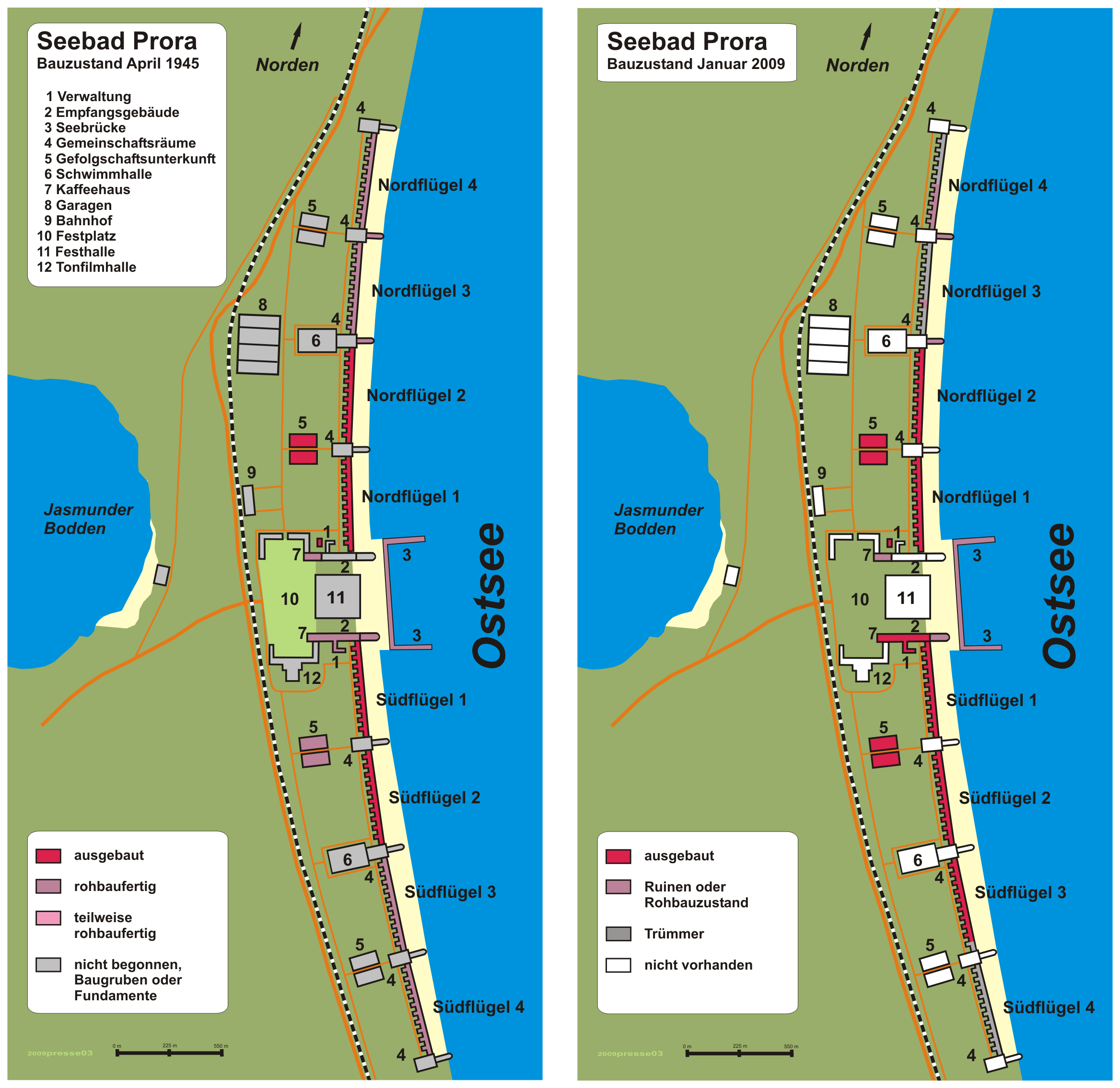 The Prora Resort On Germany S Rugan Island