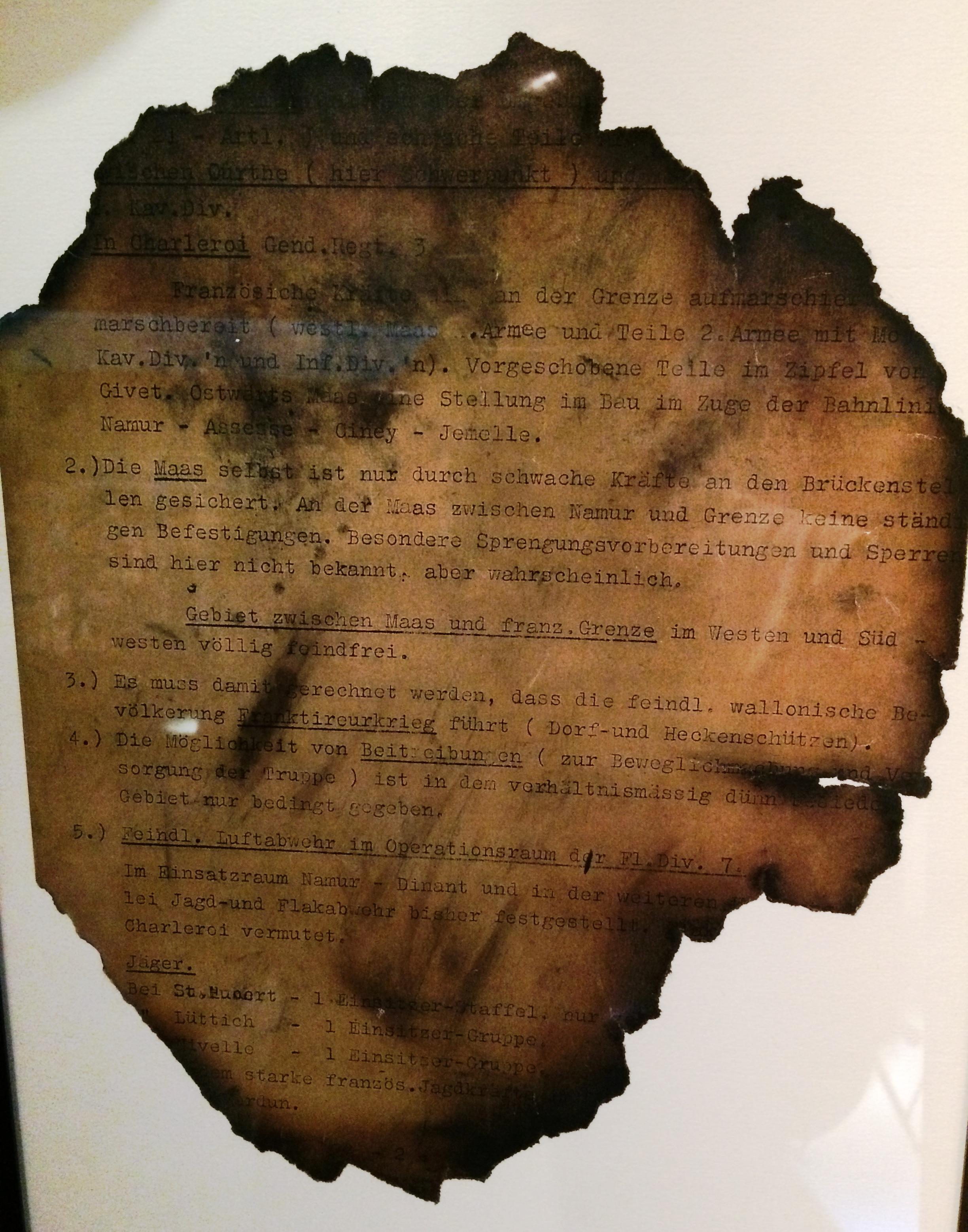 Besondere Len file plan aleman belgica capturado enero 1940 jpg