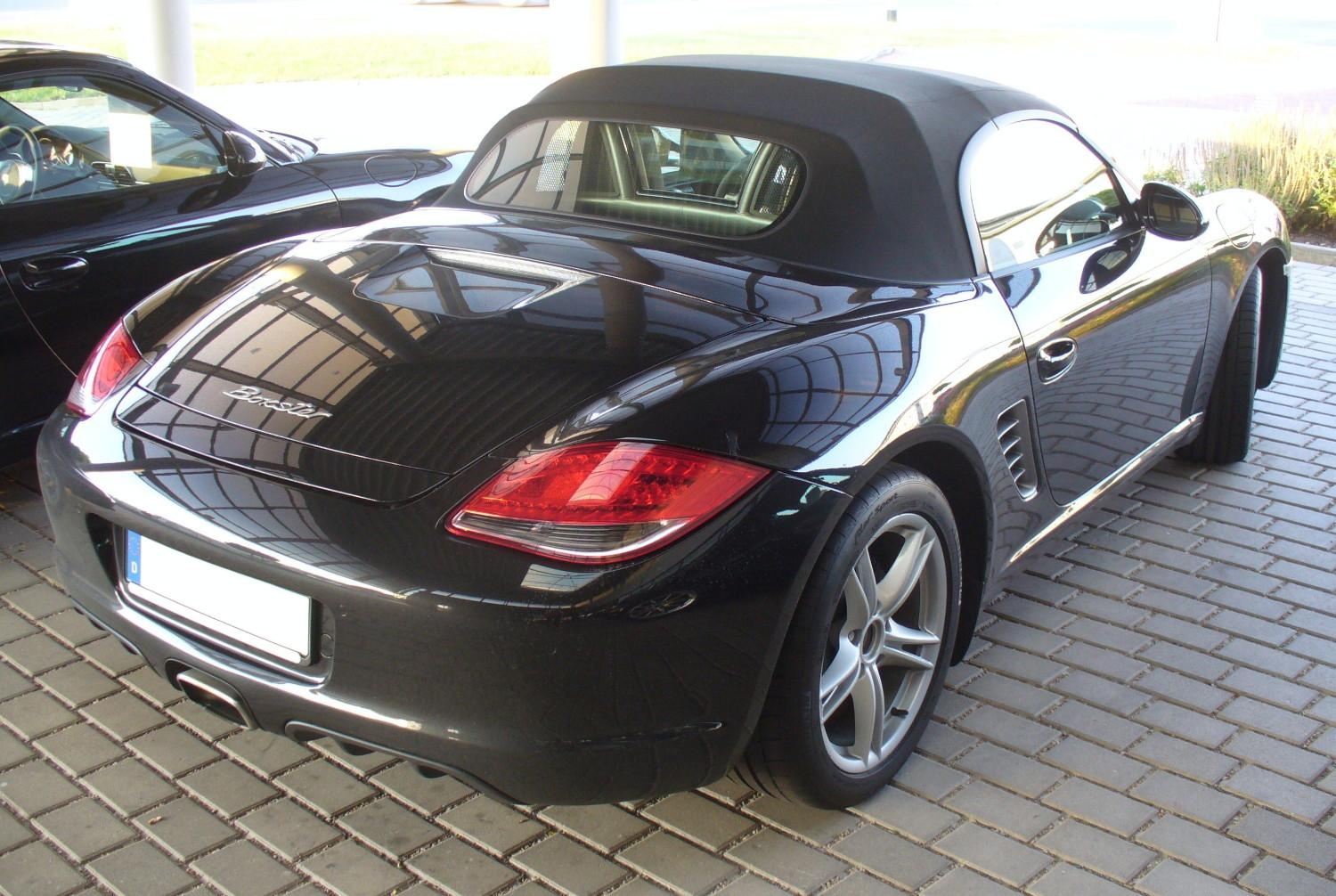 File Porsche Boxster 987 Facelift Heck Jpg Wikimedia Commons