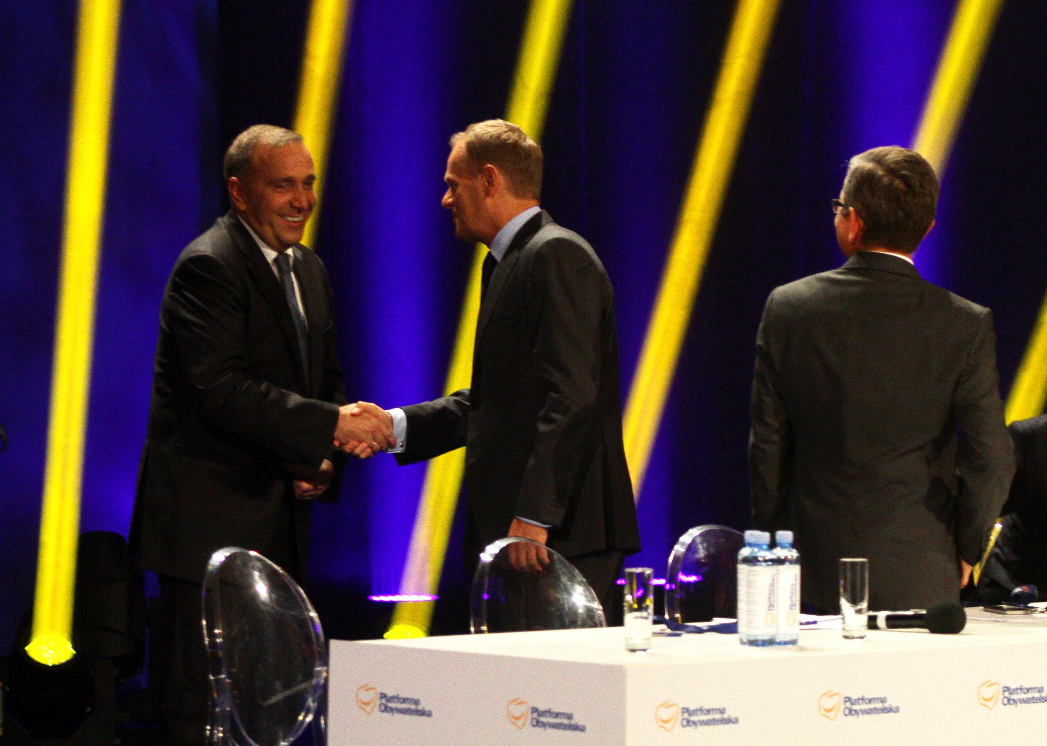 Schetyna will das Tusk zur Präsidentschaftswahl antritt