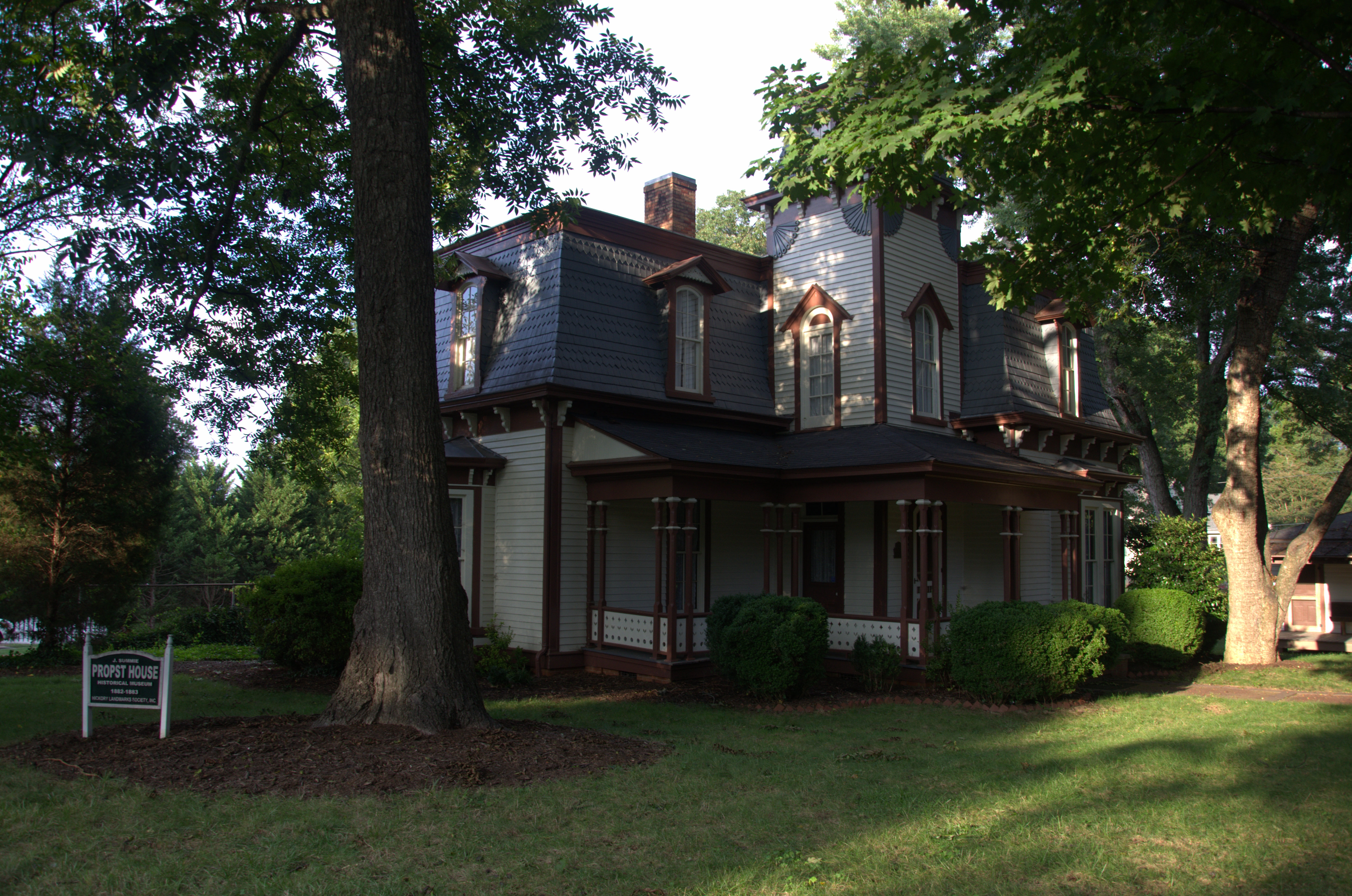 File propst house hickory north wikipedia for Carolina house