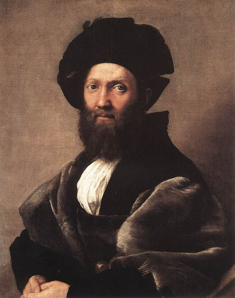 raphael sanzio Raphael is often called the great assimilator of the high renaissance style, and  the work exhibits the expected characteristics of balance.