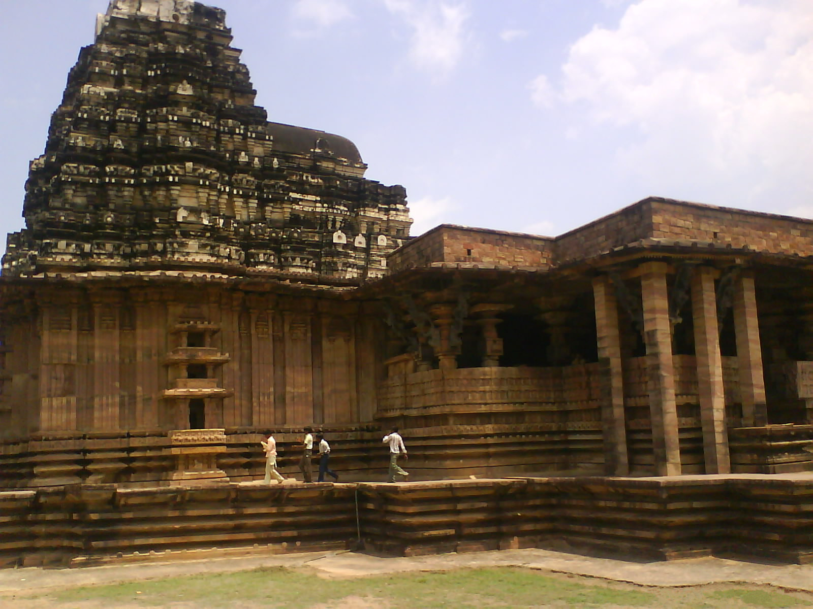The great architectural marvel, Ramappa temple in Andhra pradesh, India.