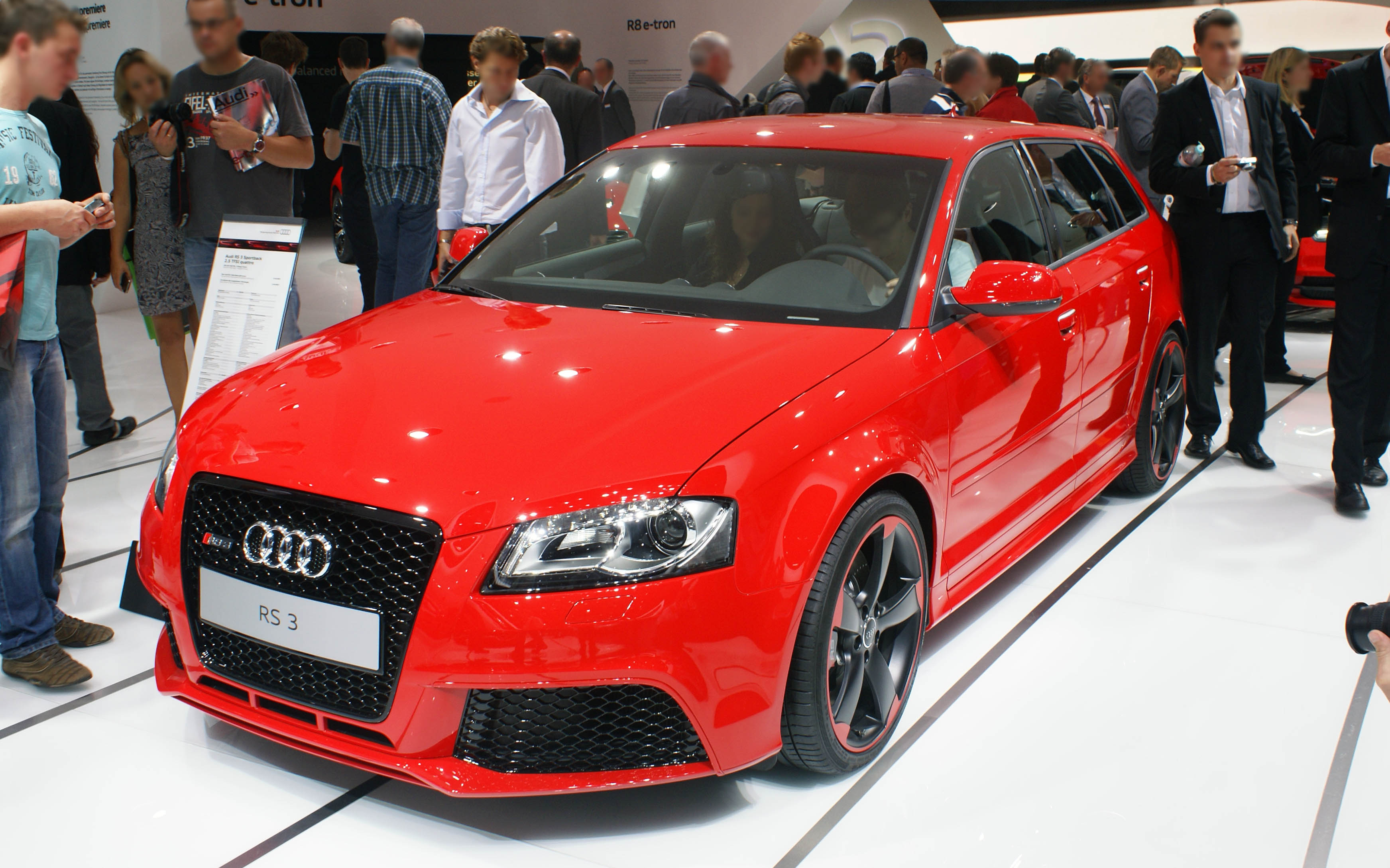 file red audi rs3 fr iaa wikimedia commons. Black Bedroom Furniture Sets. Home Design Ideas
