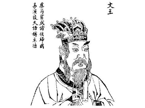 """""""明·朱天然《历代古人像赞》中的周文王 图片""""的图片搜索结果"""