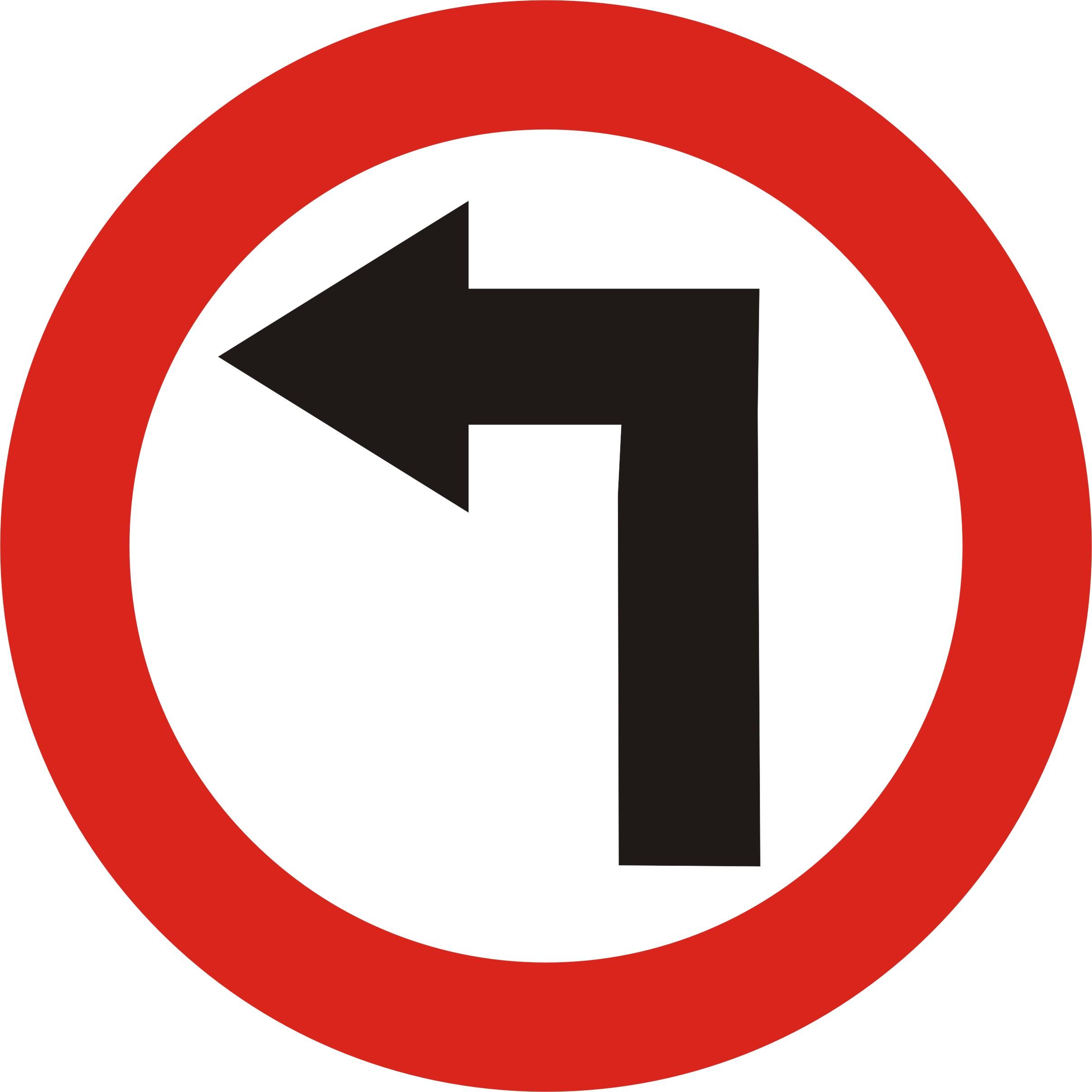 file road sign left turn jpg wikimedia commons