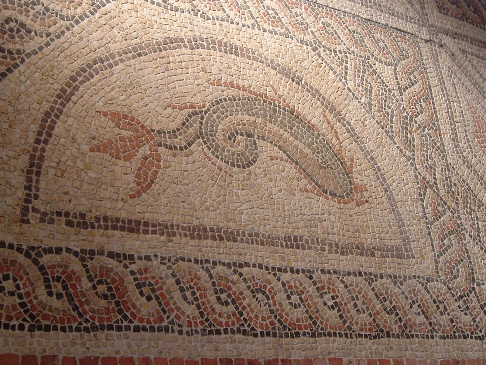 File:Roman Mosaic - Winchester Museum.jpg