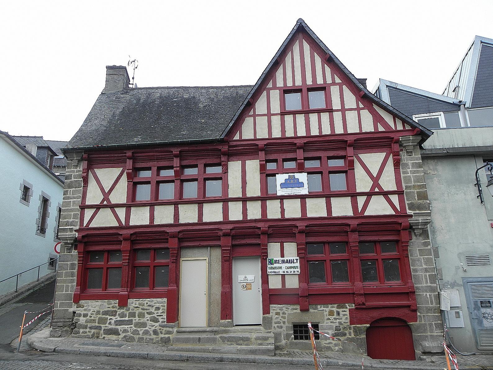 Barriere Maison file:saint-brieuc (22) maison de la barrière - wikimedia commons