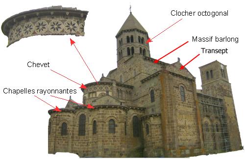 File saint nectaire pyramide wikimedia for Architecture romane