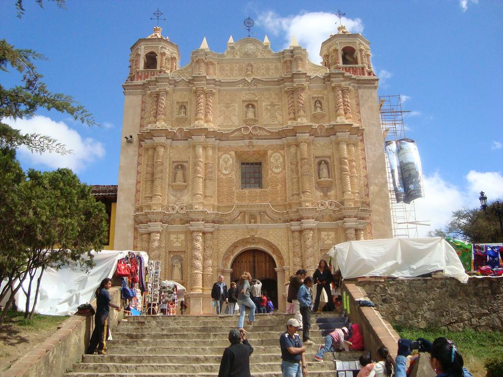 Templo de Santo Domingo en San Cristóbal de las Casas.