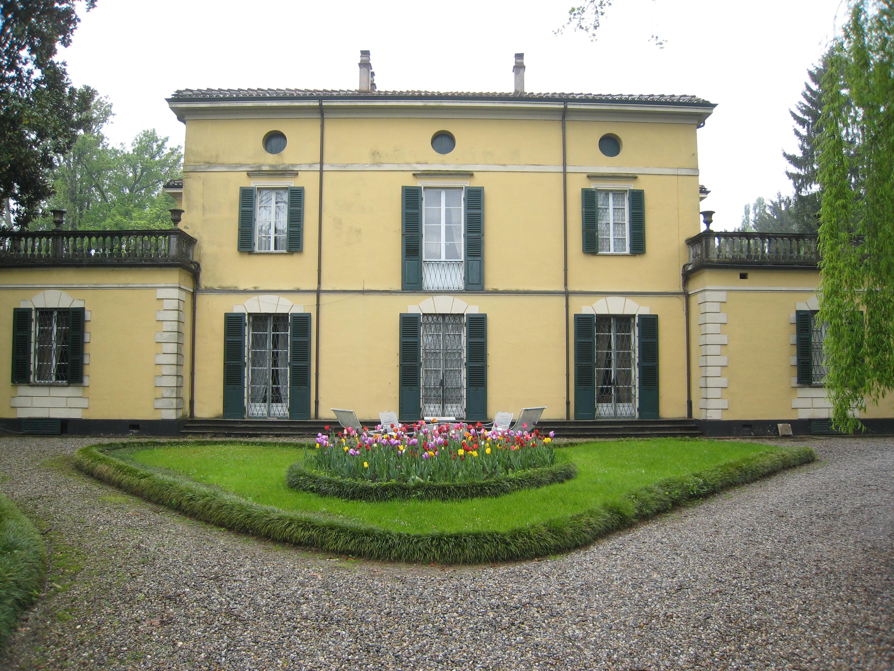 Villa Verdi en Sant'Agata, su residencia en Busseto