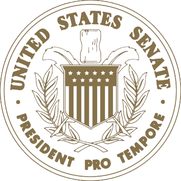 Seal of the President Pro Tempore of the United States Senate - gold
