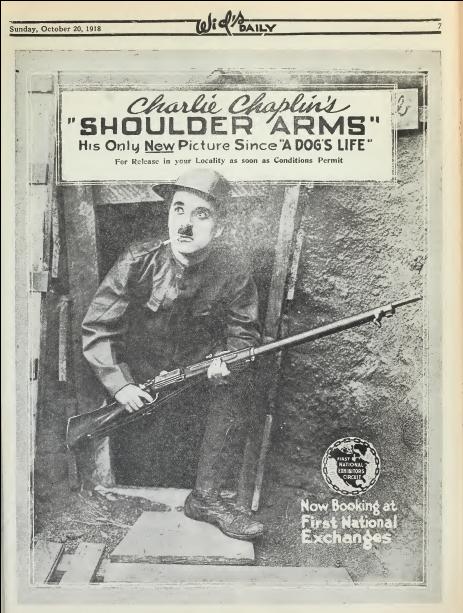 Publicité pour le film parue dans Film Daily en 1918