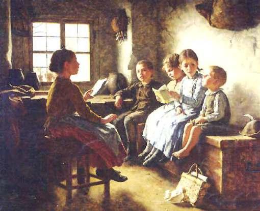 Simon Glücklich Lesestunde 1889