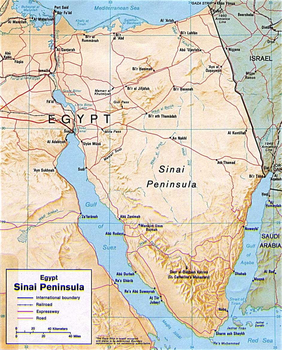 Sinai insurgency - Wikipedia