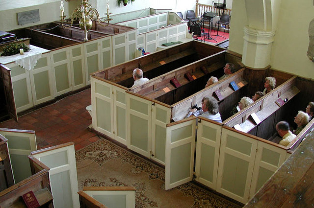 Image result for congregational pew boxes images